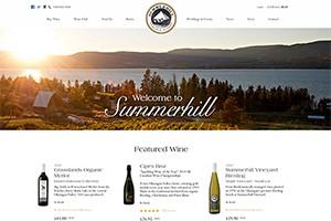 Vin65 Portfolio - Summerhill Pyramid Winery