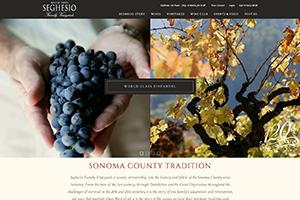 Vin65 Portfolio - Seghesio Family Vineyards