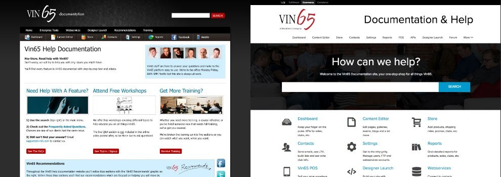 Vin65 - Looking For A Makeover? - You can redesign your website when you're already on Vin65