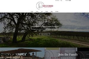 Record Family Wines